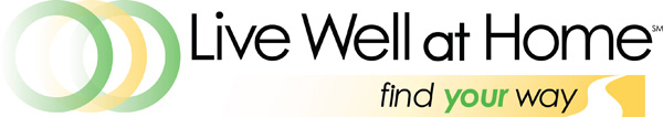 Live Well At Home logo
